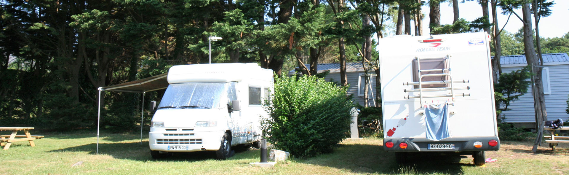 camping caravaning finistère