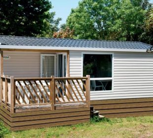 Location mobilhome loggia en Breatgne