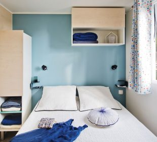 location mobilhome Lodge chambre parents