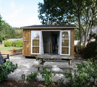 location mobil home crozon titome